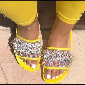 Shoes - Diamond slides